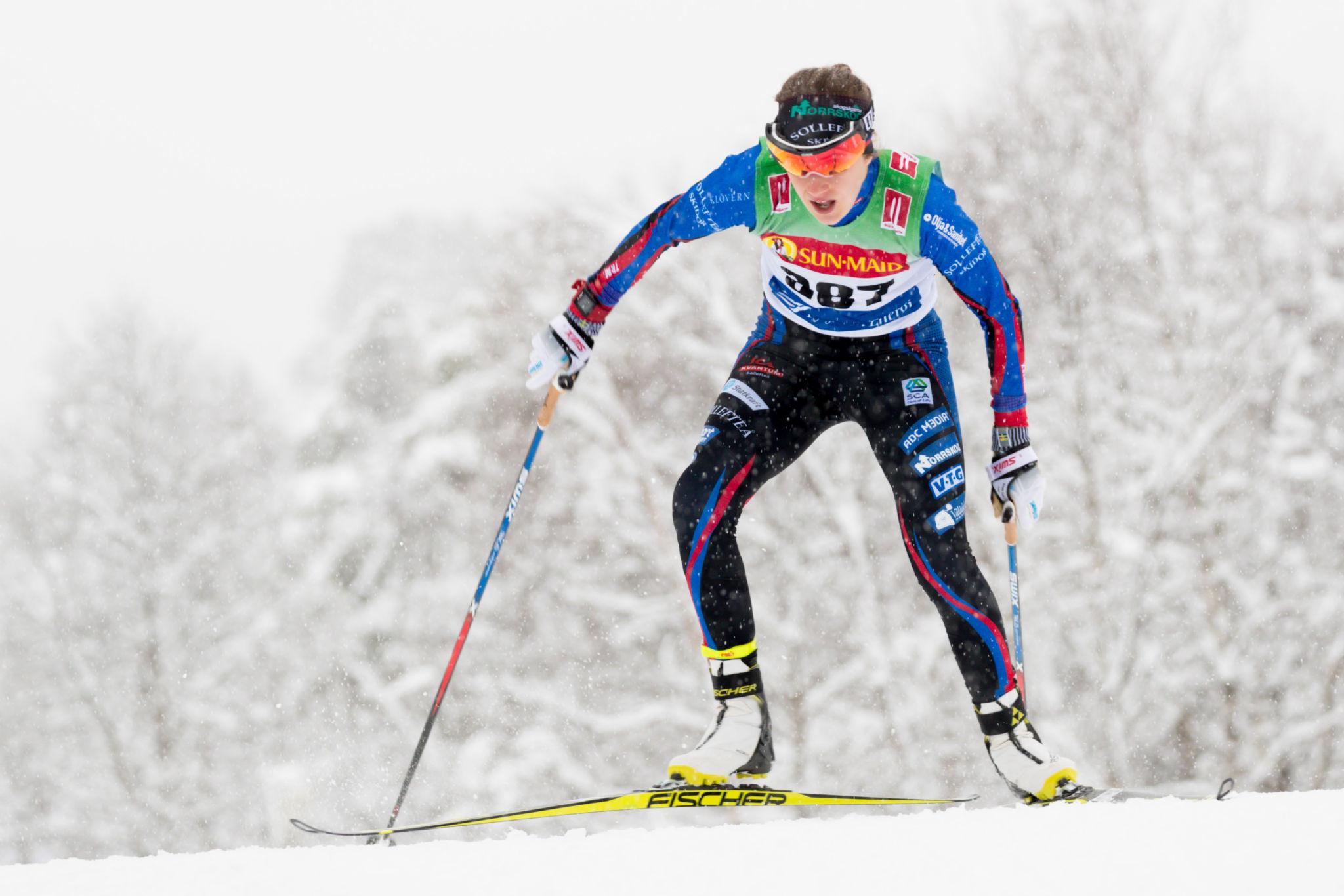 Ebba Andersson vinner Bruksvallsloppet