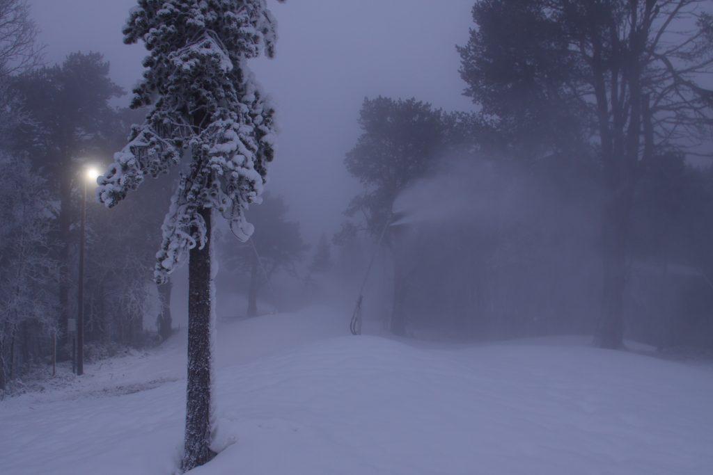 Snösprutning