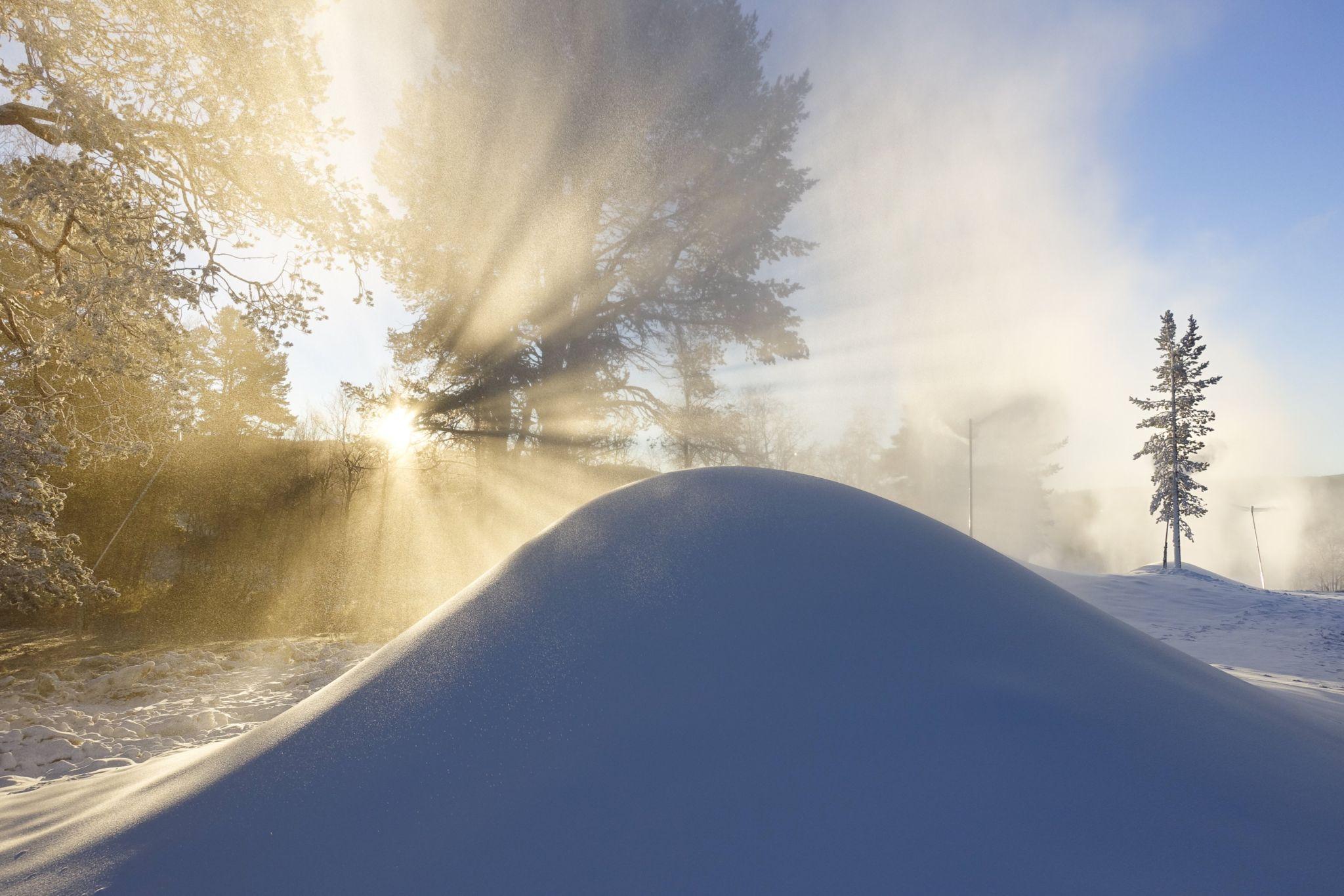snö Bruksvallarna